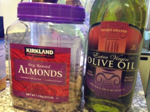 olive oil and almonds copy